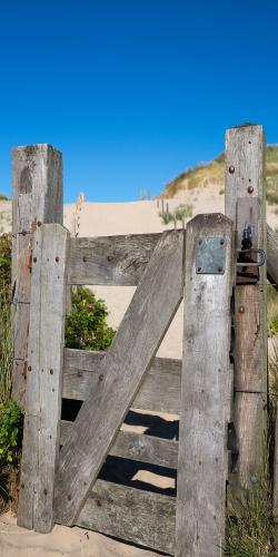 Hek naar de duinen
