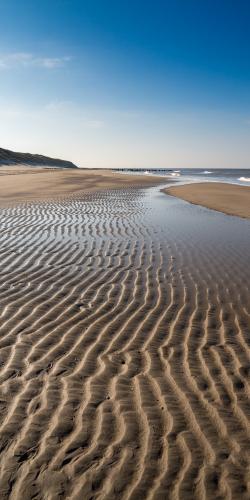 Lijnen in het zand