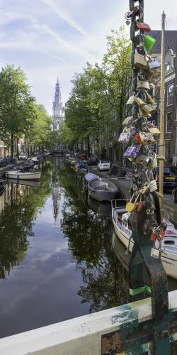 Hangsloten Amsterdamsegrachten