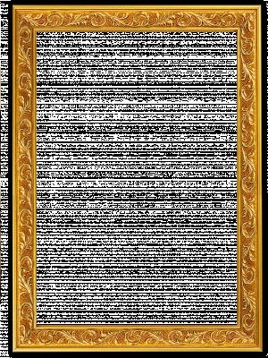 Lijst patroon 3 goudkleurig