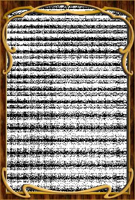 Houten frame smal