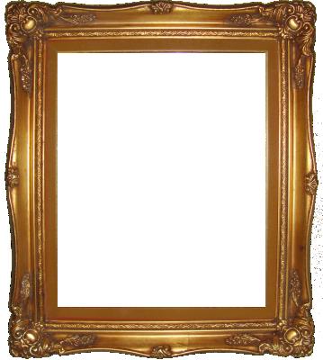 Lijst patroon 9 goud