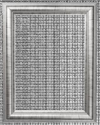 Lijst patroon 5 grijs