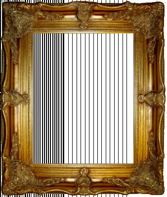 Lijst patroon 8 goud