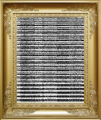 Lijst patroon 10 goud