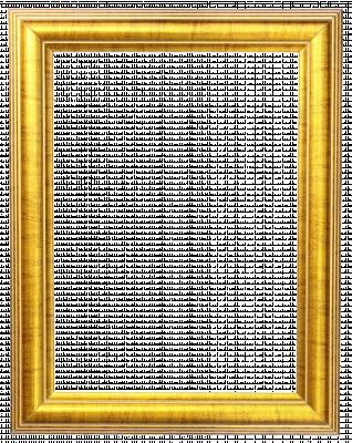 Lijst patroon 5 goudkleurig