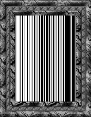 Lijst patroon 6 grijs