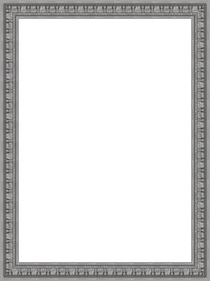 Lijst patroon 1 zilver